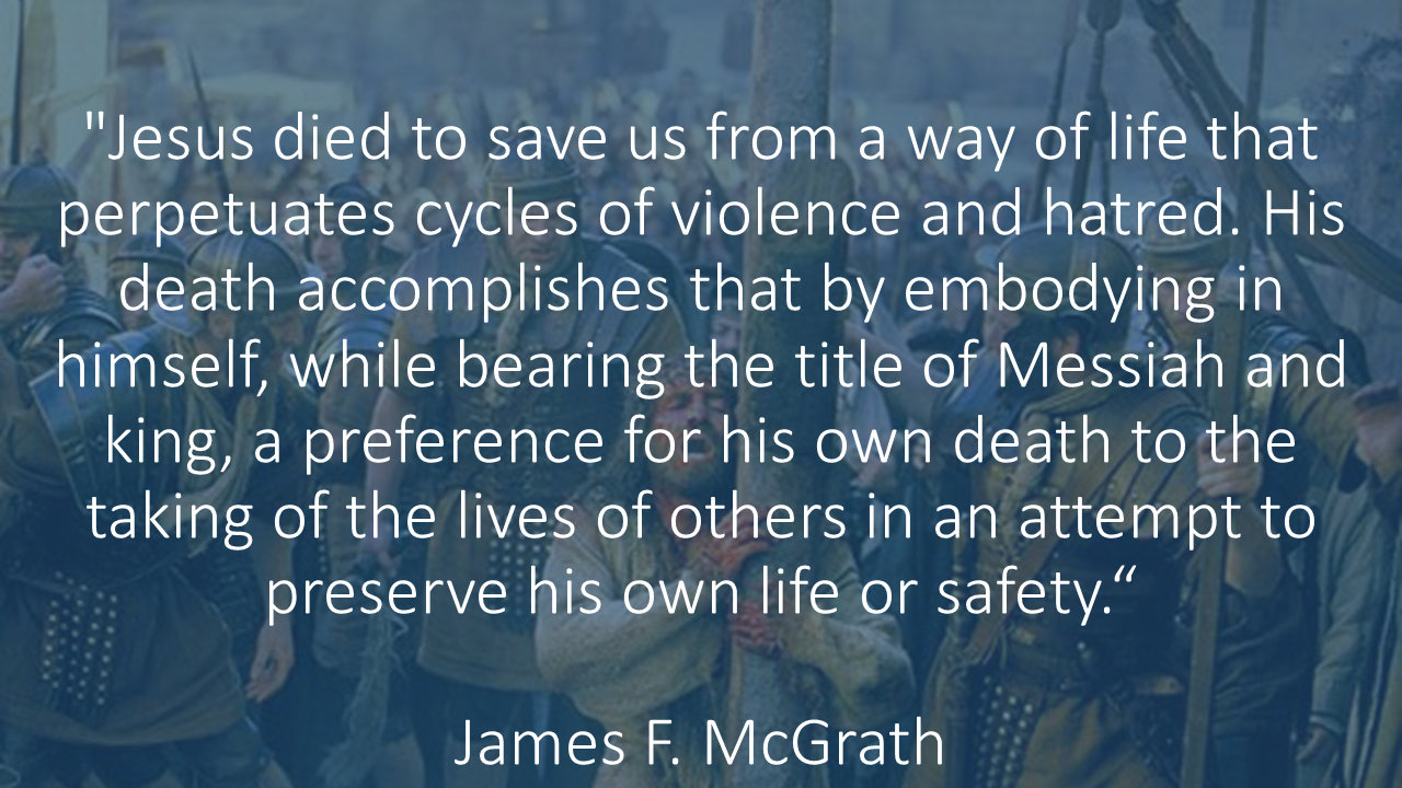 Why Jesus Died James Mcgrath