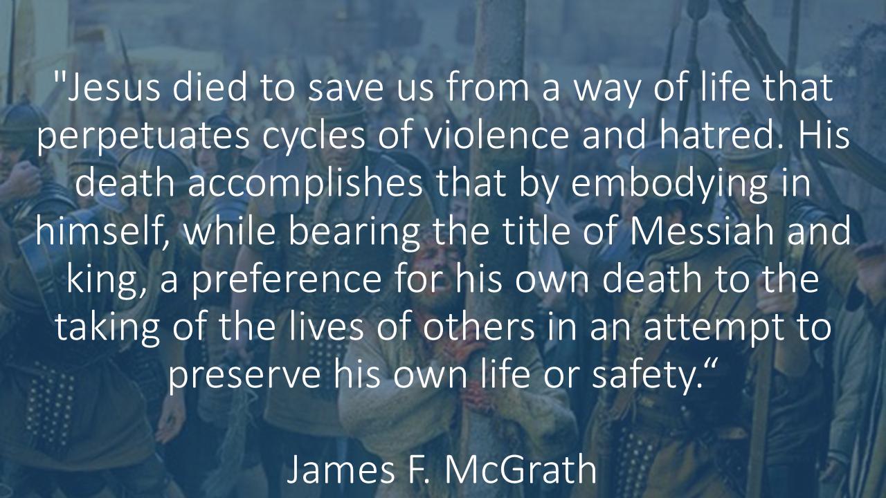 Why Jesus Died James Mcgrath