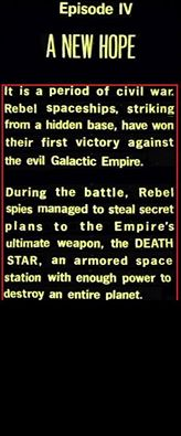 Rogue One Spoilers