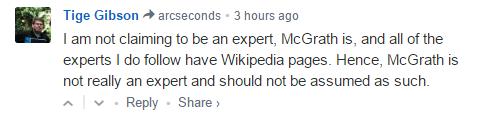Not Really An Expert