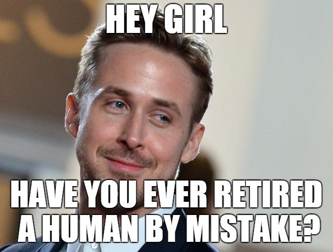 gosling retired meme