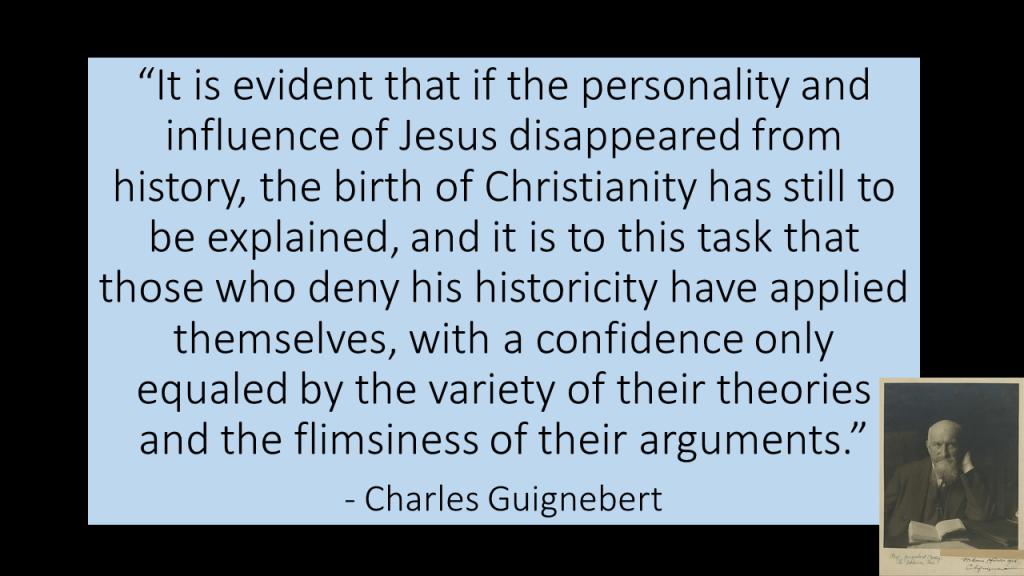 Guignebert quote