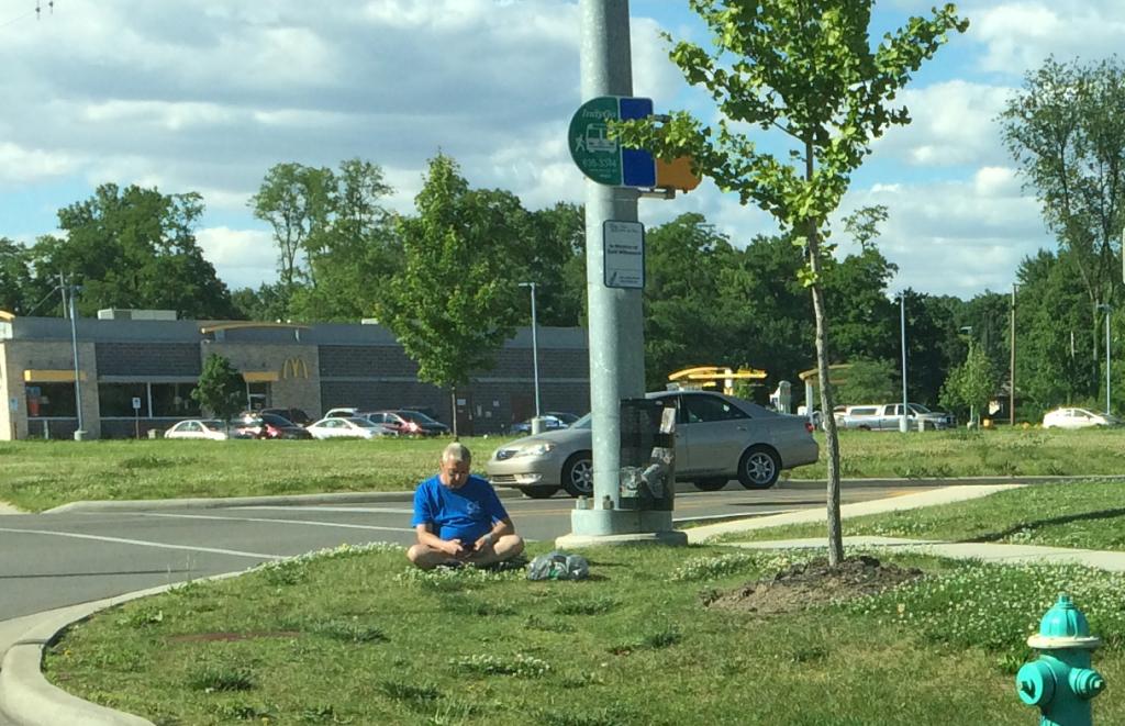 busstop zen texting