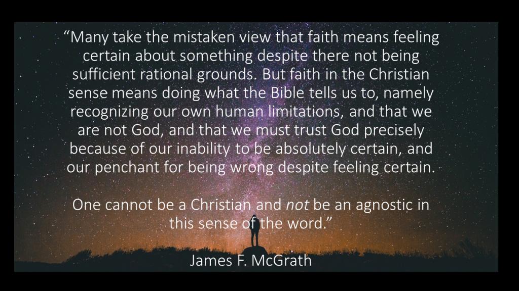 Christian agnosticism