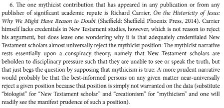 Bernier footnote