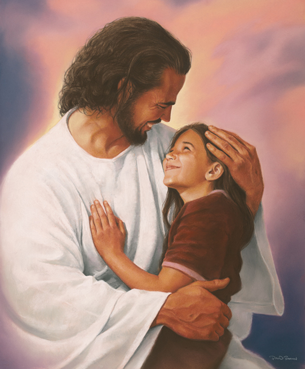 A Hug from Jesus