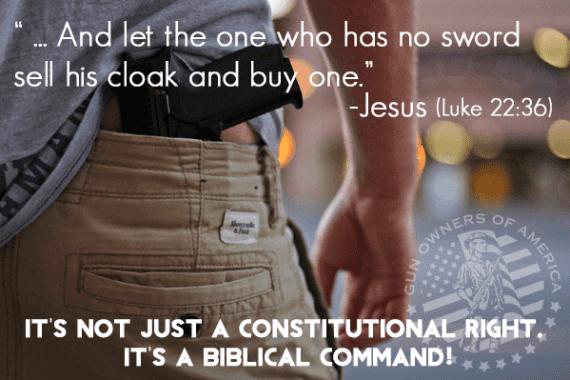 Carrying Swords for Jesus