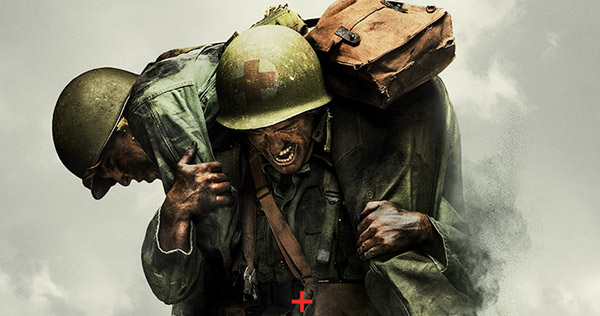 Hacksaw Ridge image courtesy of Lionsgate Pictures