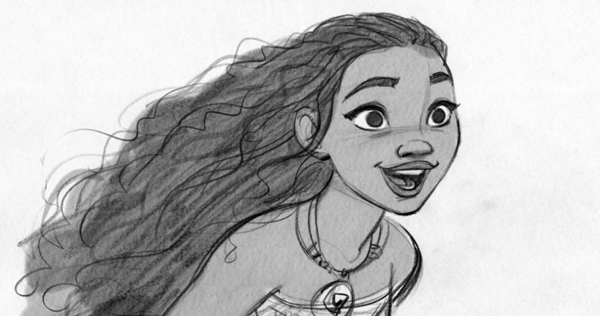 Concept art from Moana, courtesy of Walt Disney Pictures.