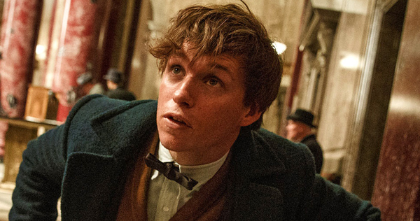 Eddie Redmayne plays Newt Scamander in Fantastic Beats and Where to Find Them. Image courtesy of Warner Brothers Pictures
