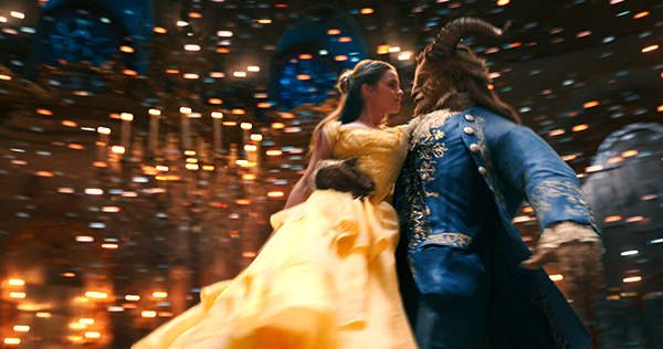 Emma Watson and Dan Stevens star as the title characters in 'Beauty and the Beast.' Image courtesy of Walt Disney Studios Motion Pictures.