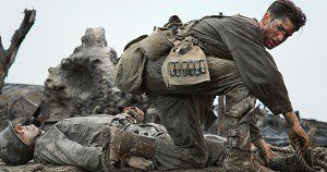 Andrew Garfield as Desmond T. Doss in Hacksaw Ridge. Photograph courtesy of Lionsgate Pictures