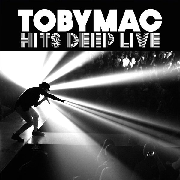 TobyMac's new live album and film 'Hits Deep Live.' Image by Louis Deluca and courtesy of ForeFront Records/EMI CMG.