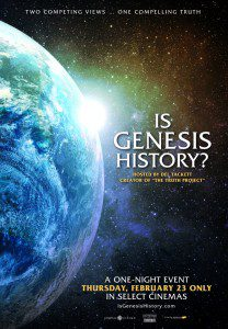 The creationist documentary, Is Genesis History?, releases Thursday, Feb. 23 in theaters. Image courtesy of Compass Cinema