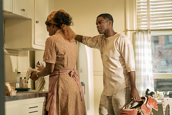 Jovan Adepo stars with Viola Davis in the Oscar-winning film 'Fences,' now available on Blu-Ray, DVD and Digital Home Video. Image courtesy of Paramount Pictures.