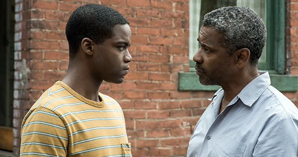 Jordan Adepo stars with Denzel Washington in 'Fences,' which received four Academy Award nominations, including Best Picture. Image courtesy of Paramount Pictures.