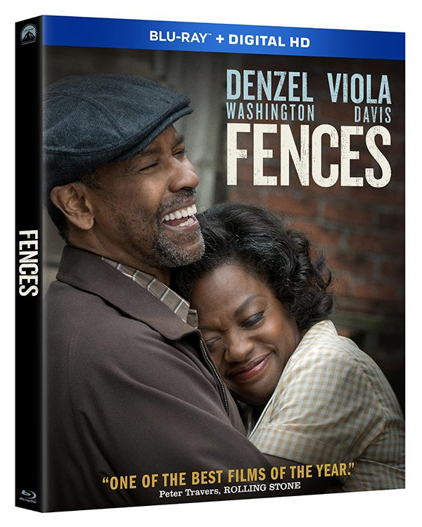 Fences, starring Denzel Washington and Viola Davis, is now available on Blu-Ray, DVD and Digital Home Video. Image courtesy of Paramount Pictures.