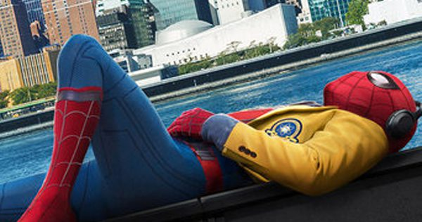 Spider-Man: Homecoming stars Tom Holland, Michael Keaton, and Robert Downey, Jr. Image courtesy of Sony Pictures