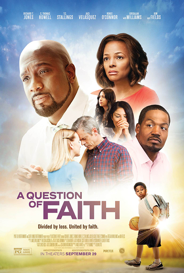 The new film 'A Question of Faith' releases from Silver Lining Entertainment/PureFlix. Movie poster courtesy of Icon Entertainment.
