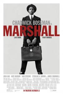 Chadwick Boseman and Josh Gad star in 'Marshall,' opening Oct. 13 from Open Road Pictures. Image courtesy of Open Road Pictures.