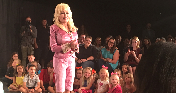 Dolly Parton released her children's album, I Believe In You, on Oct. 13. through Dolly Records/RCA Nashville. Image by LeAnn Hamby.