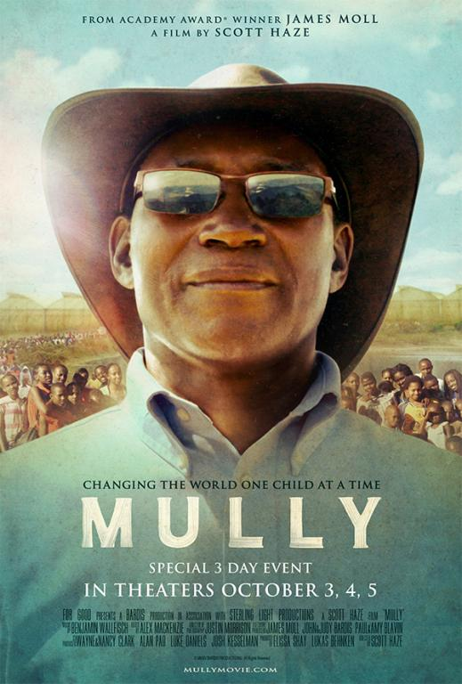 The life of real-life hero Charles Mully is profiled in the new documentary 'Mully' releasing as a Fathom Event Oct. 3-5. Image courtesy of Rogers and Cowan.