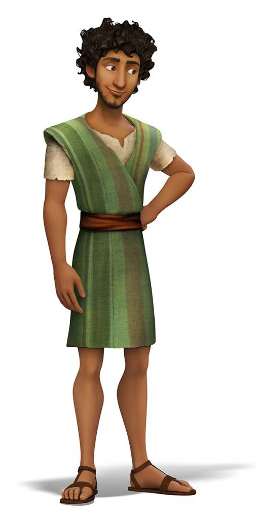 Zachary Levi plays Joseph in the animated film 'The Star,' releasing Nov. 17 from Sony Animation/AFFIRM Films. Image courtesy of Sony Animation. © 2017 CTMG, Inc. All Rights Reserved