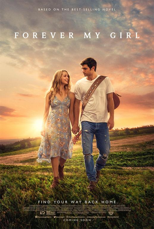 Alex Roe and Jessica Rothe star in Forever My Girl, releasing Jan. 21 from Roadside Attractions/LD Entertainment. Image courtesy of Roadside Attractions.