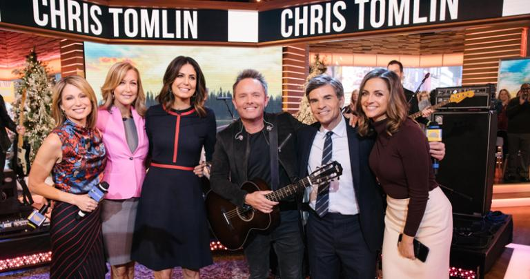 Chris Tomlin on Good Morning America