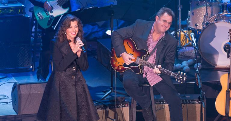 Amy Grant, Vince Gill, and Family Share