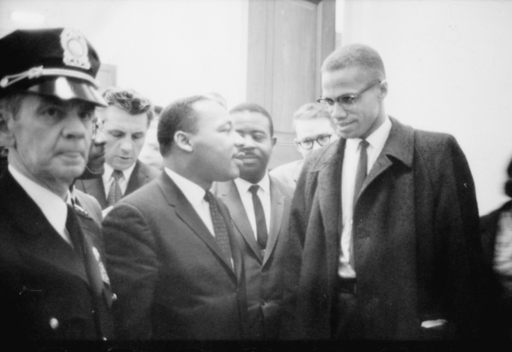 "No Known Restrictions: ""Martin Luther King and Malcolm X Waiting for Press Conference"" by Marion S. Trikosko, March 26, 1964 (LOC) Believed to be in Public Domain From Library of Congress, Prints and Photographs Collections (507615074_6f06a6b08b_b.jpg) - via Flickr"