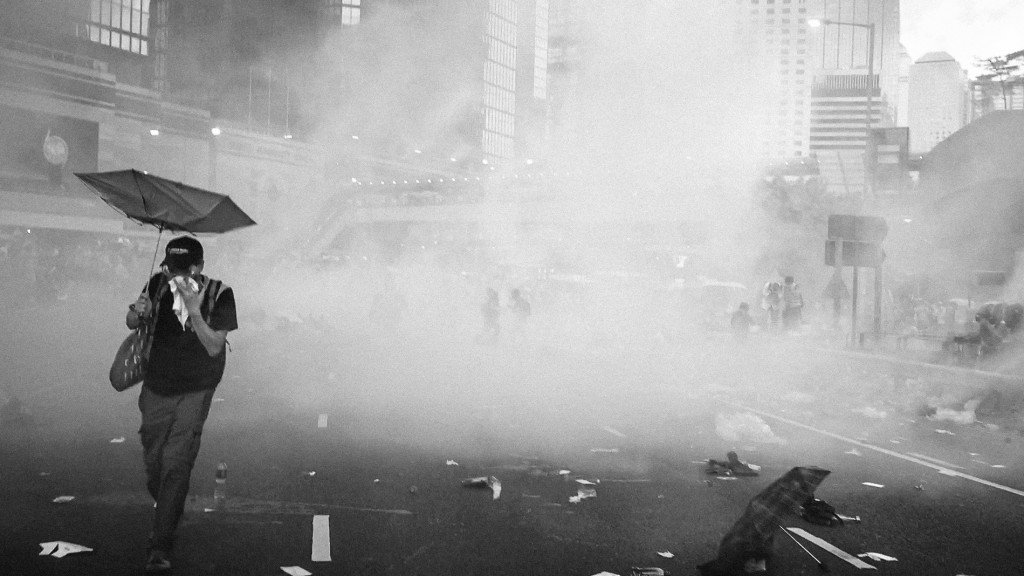 Umbrella Movement, 28 Sept 2014 - by Pasu Au Yeung (Hong_Kong_Umbrella_Revolution_-umbrellarevolution_-umbrellamovement_-occupyhk_-occupyhongkong_(15461699522)) [CC BY 2.0 (https://creativecommons.org/licenses/by/2.0/deed.en)], via Wikimedia Commons