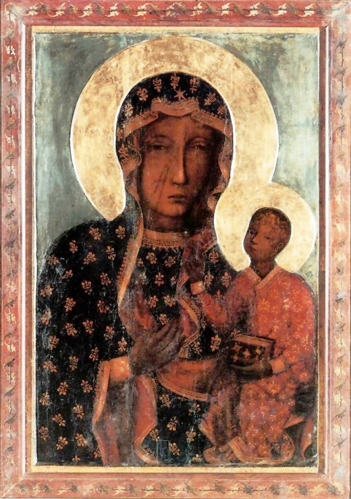 Black Madonna of Częstochowa (Original_Black_Madonna_of_Częstochowa) [Public Domain], via Wikimedia Commons