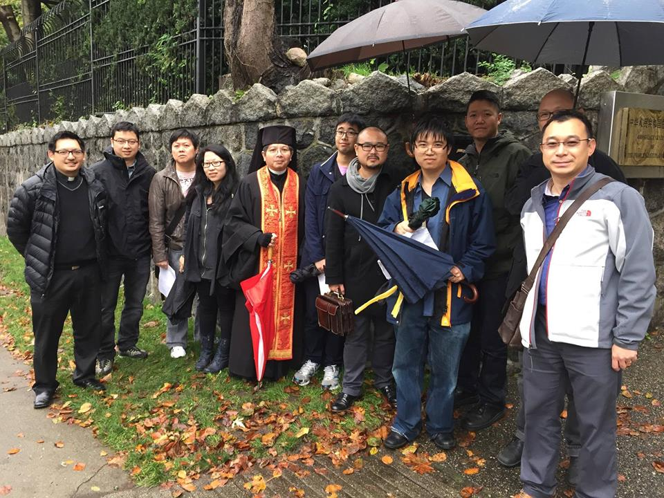 Vancouver Clergy Prayer Meeting for Peace and Democracy for Hong Kong - 2014 Oct 17 - photo by me