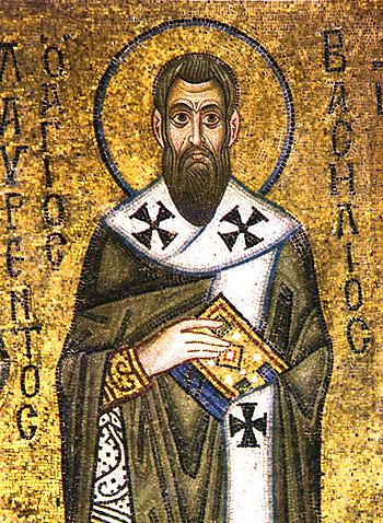 Holy Basil of Caesarea, PD-ART, via Wikimedia Commons