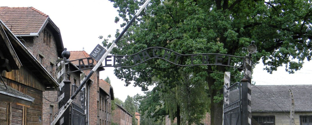 The Gates of Auschwitz (Credit: Eugenia Geisel)
