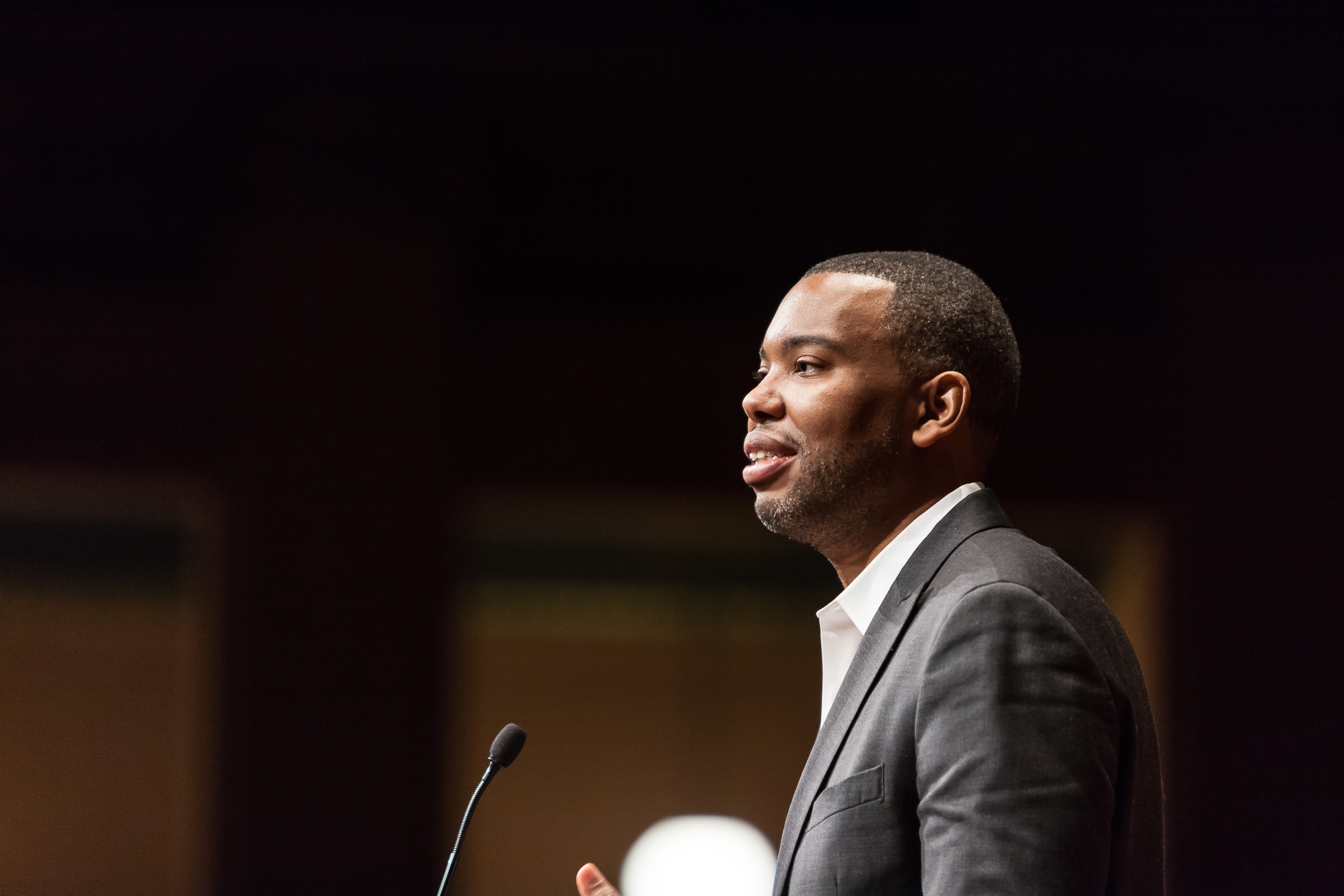 "Ta-Nehisi Coates delves into the conflicted and hopeful state of black America today. What does ""black culture"" mean? What is the continuing role of both the older and younger generations in shaping it? Where will gentrification, education, and the splintering (or unifying) of families take it? With an easy-going manner, an unashamedly erudite approach, and a journalist's grasp of narrative and clarity, Coates delivers an ear-to-the-ground (and Eyes on the Prize) talk that asks the small personal questions as well as the big historic ones. Presented on January 21, 2015 by the Institute for Research on Women & Gender and the Women's Studies Department, with cosponsorship from the Department of Afroamerican and African Studies, the Gerald R. Ford School of Public Policy, and the Office of the Vice Provost for Equity, Inclusion, and Academic Affairs, the biennial Motorola Lecture features an outstanding journalist who routinely addresses issues concerning gender in his or her reporting. Photo credit: Sean Carter Photography Details: http://fordschool.umich.edu/events/2015/deeper-black-race-america CC BY-ND 2.0 (https://creativecommons.org/licenses/by-nd/2.0/), via Flickr"