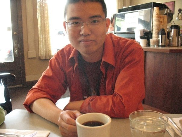 My best attempt to look like a Chinese evangelical therapist - photo by either my mom or sister