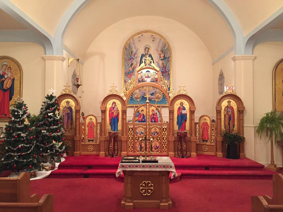 Eastern Catholic Church, Richmond - photo by Eric Hung, Theophany 2018