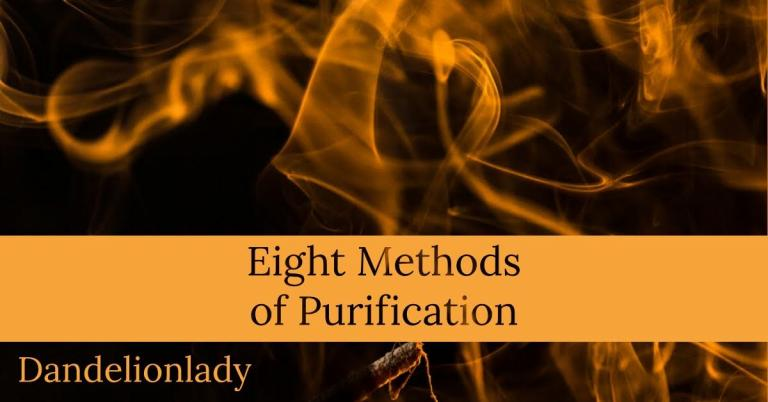Eight Methods of Purification That Aren't Burning Sage