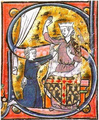 Heart shape in medieval history