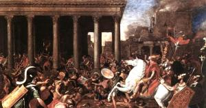 Destruction of the Temple Poussin