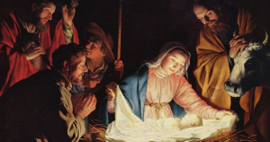 Nativity Birth of Christ - Gerard van Honthorst