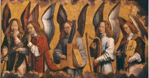 Memling Angels Playing Music Joy