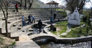 Baptistry at Philippi where Lydia was baptized