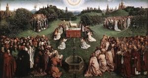 Adoration of the Lamb - van Eyck - 782 x 411