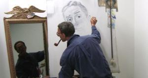 Self-Examination, Painting self-portrait