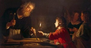 Gerrit van Honthorst - Childhood of Christ 1