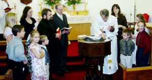 Gloria's Baptism