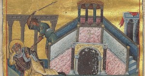 James the Just from Menologion of Basil II cropped